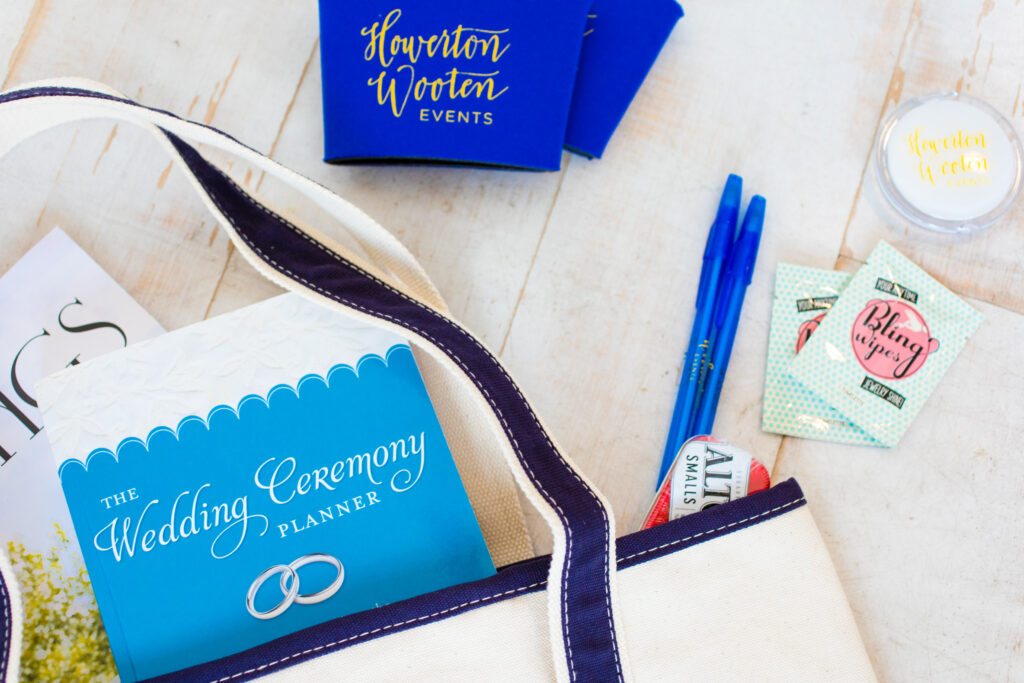 Howerton+Wooten Events Welcome Bag