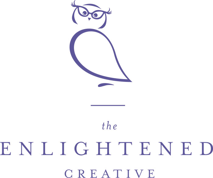Logo for The Enlightened Creative. The Enlightened Creative.