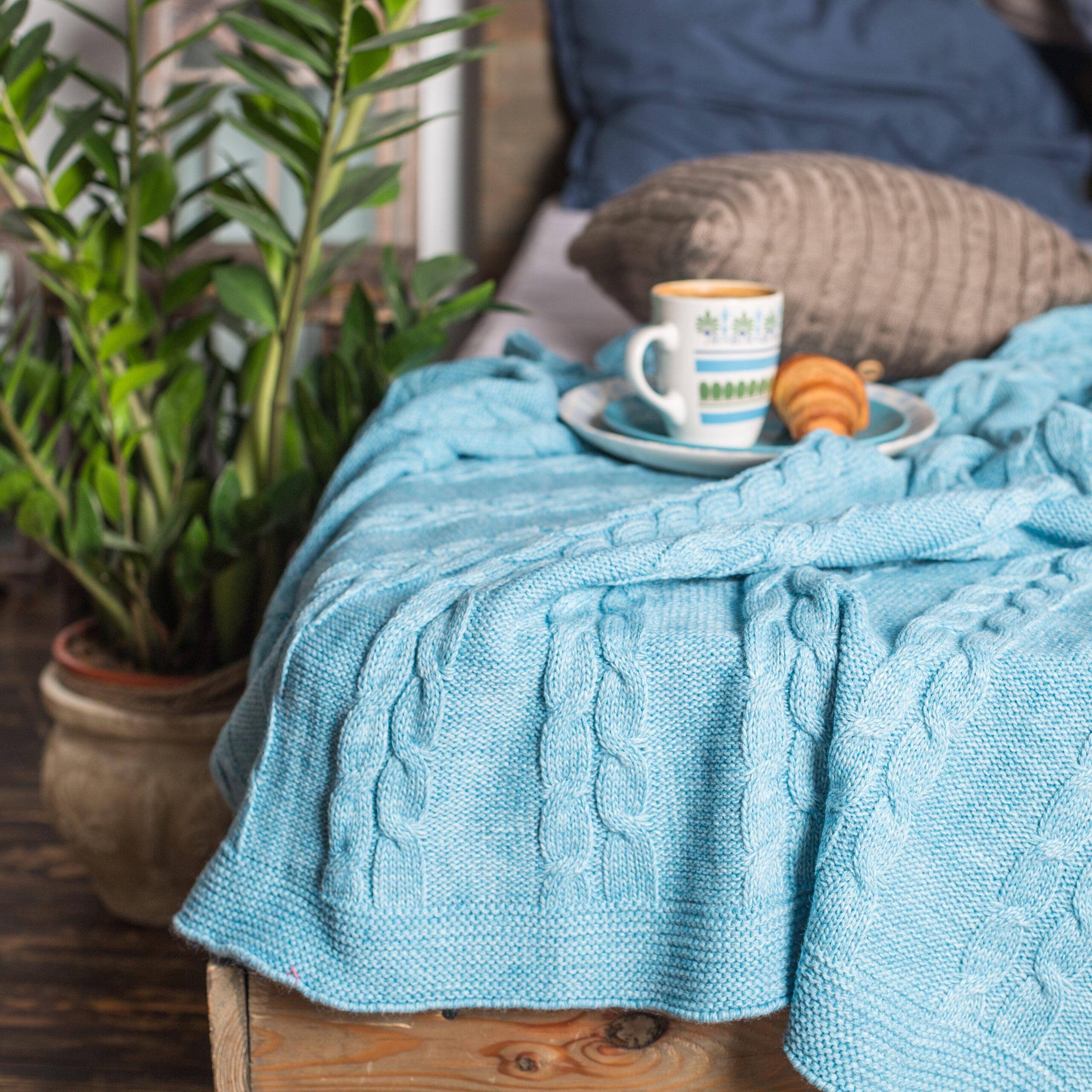 Light Blue Security Blanket